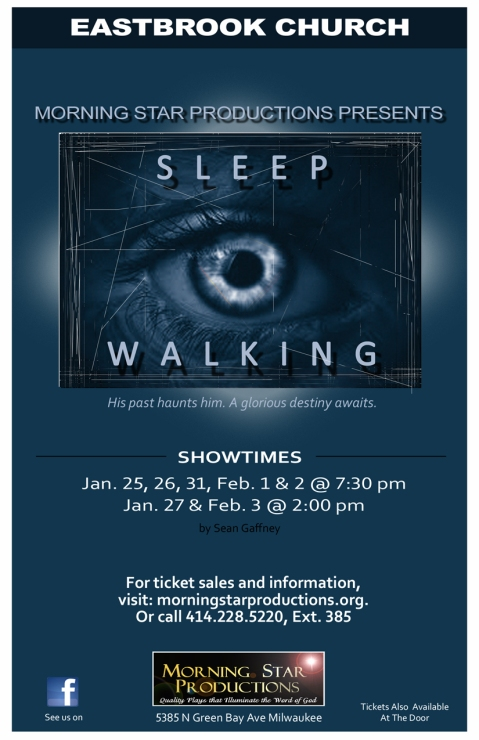 Pam Sleepwalking Flyer
